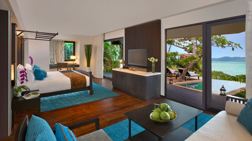 Beachfront Pool Suite in the Anantara Bophut Resort & Spa, Koh Samui
