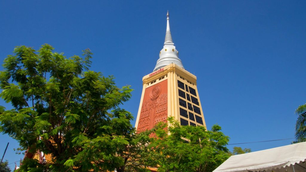 An insiders' tip in Bangkok, the Wat Dhammamongkol