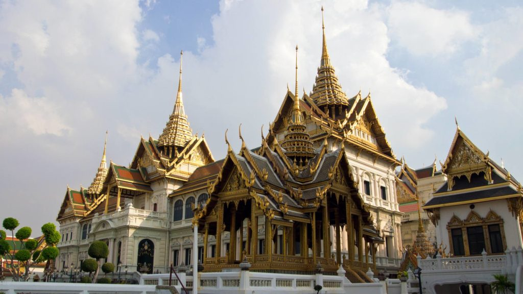 Chakri Maha Prasat in the Grand Palace of Bangkok