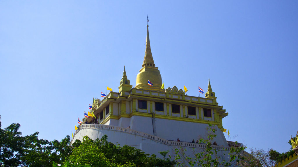 The Golden Mount of the Wat Saket (Golden Mount Temple), Bangkok