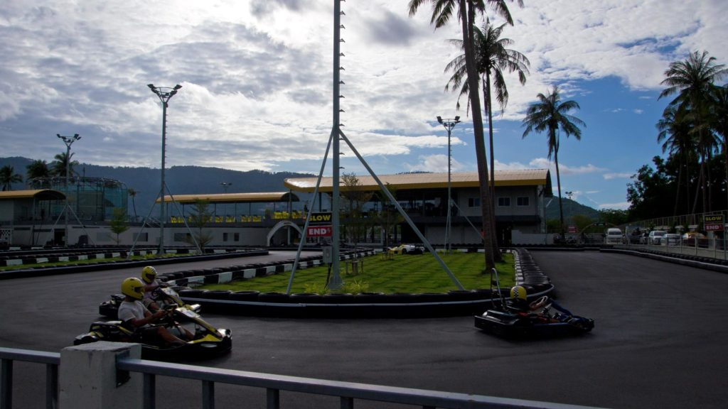 Go Kart am Chaweng Lake in Koh Samui