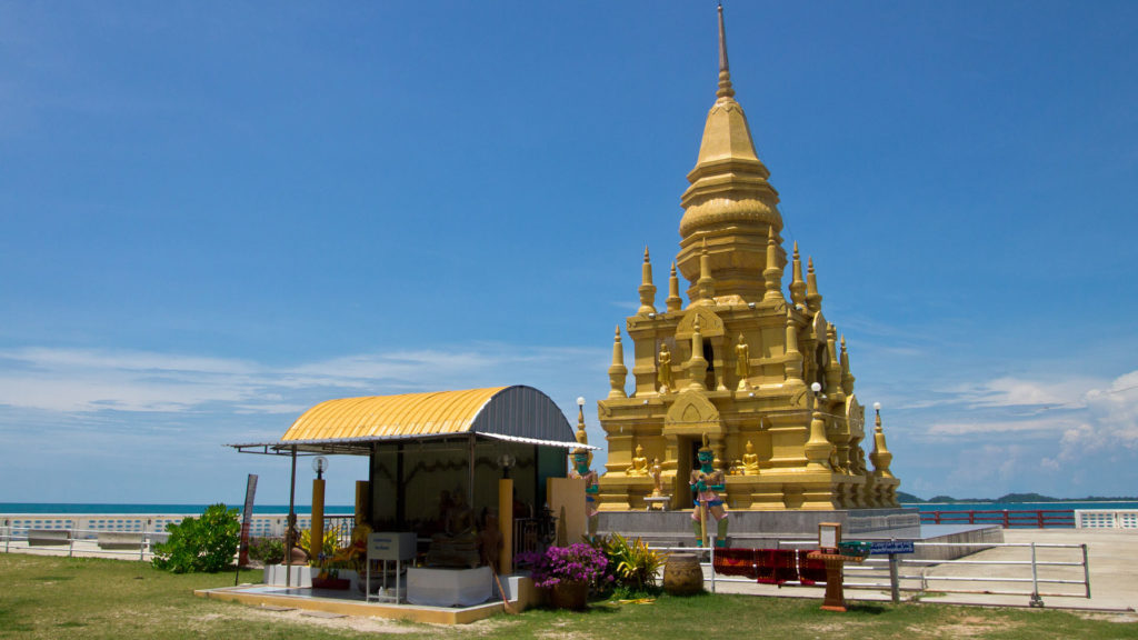 The Laem Son Pagoda in the south of Koh Samui