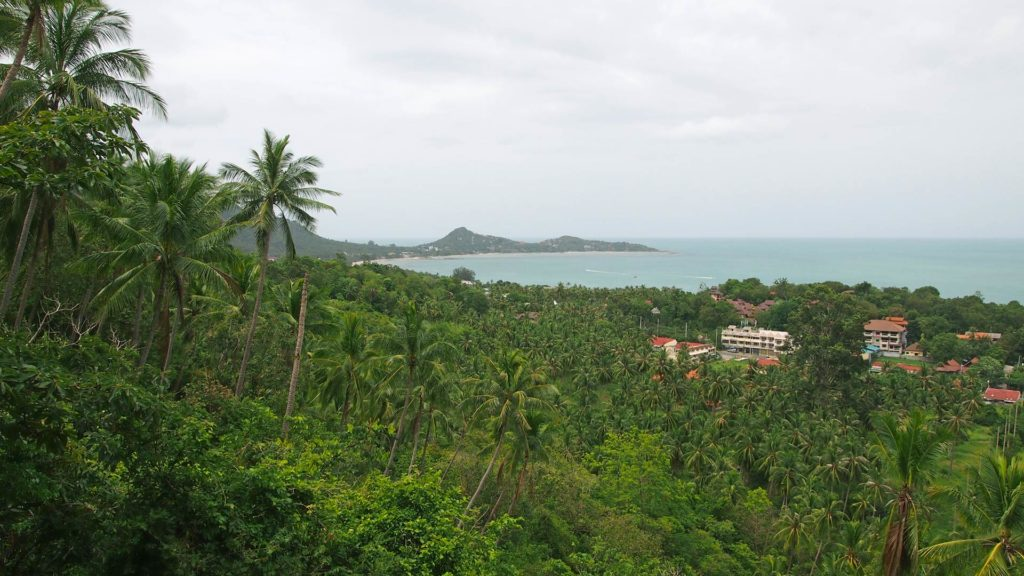 View from the Lamai Viewpoint, Valentine Stone, Koh Samui
