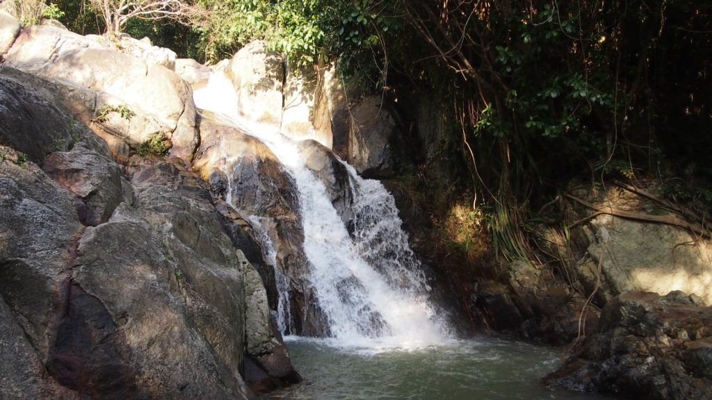 The Namuang Waterfall 2 on Koh Samui