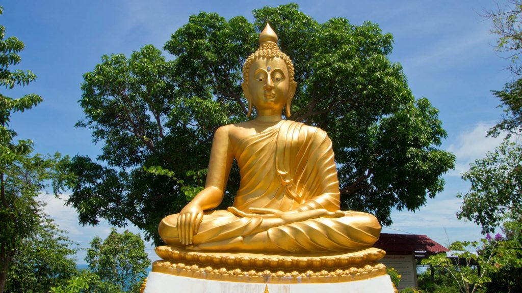 The Big Buddha at the Wat Rattanakosin, Koh Samui