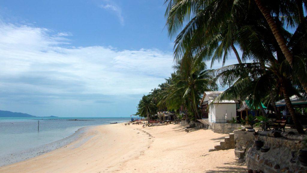 Der einsame Bang Bor Beach im Norden von Koh Samui