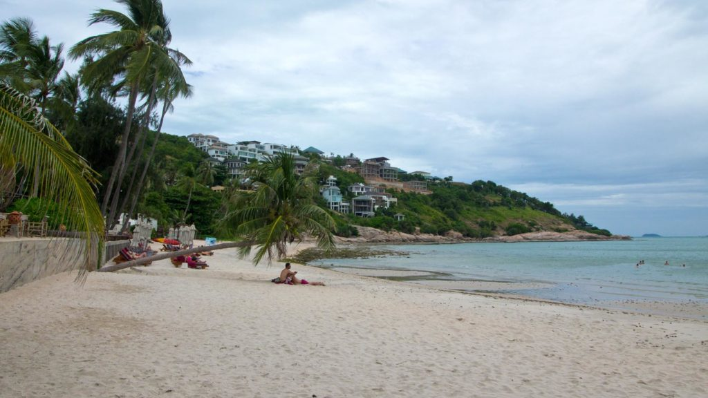Thongson Bay, a small secluded bay in the north of Koh Samui