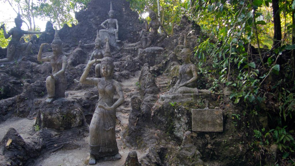 The Tarnim Magic Garden, also known as Secret Garden, on Koh Samui