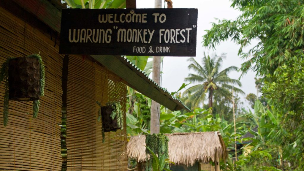 Warung Monkey Forest in Tetebatu