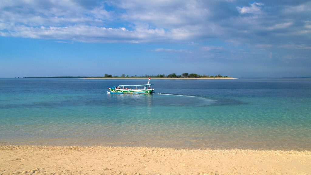 View from Gili Kondo at Gili Bidara, Lombok