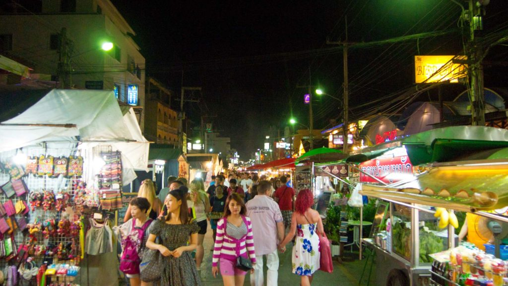 The daily Hua Hin night market