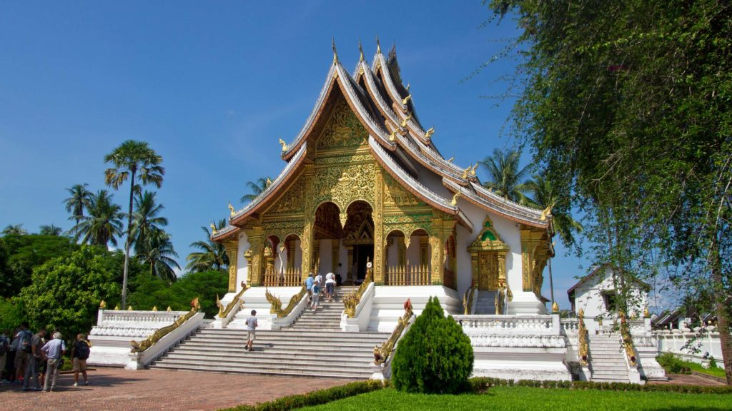 Ho Kham, the old royal palace and nowadays a museum in Luang Prabang