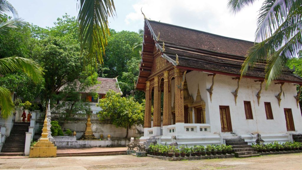 One of the many temples in Luang Prabang's old town, Laos