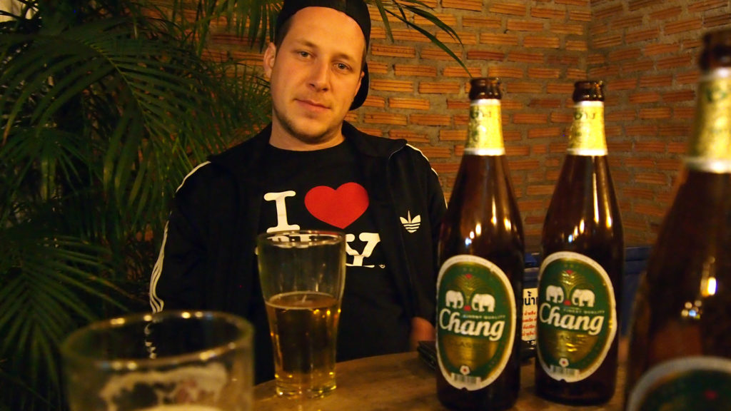 Chang Beer, eines der Biere in Thailand