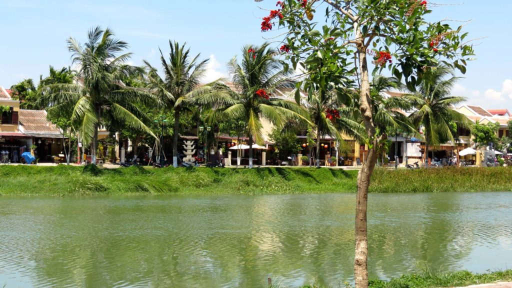 The view at Hoi An, Vietnam