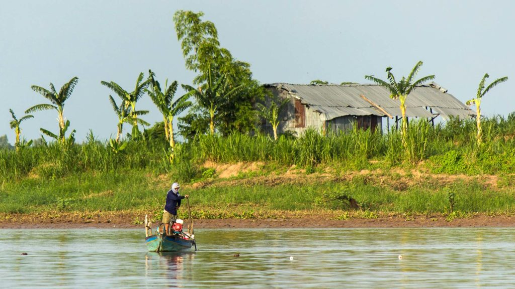 A boat ride on the Mekong Delta, Vietnam