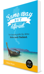 Thailand Ebook Same Way But Different - Cover