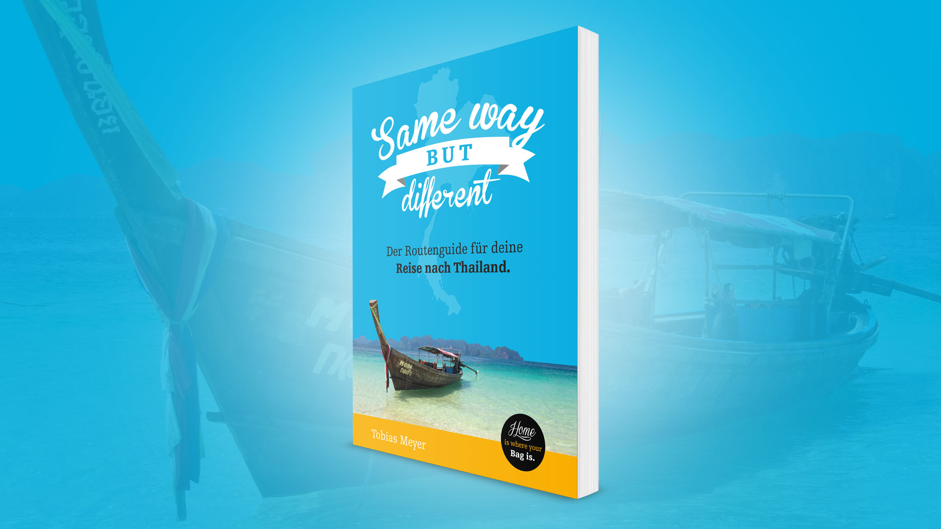 Thailand eBook: Same Way But Different Routenguide