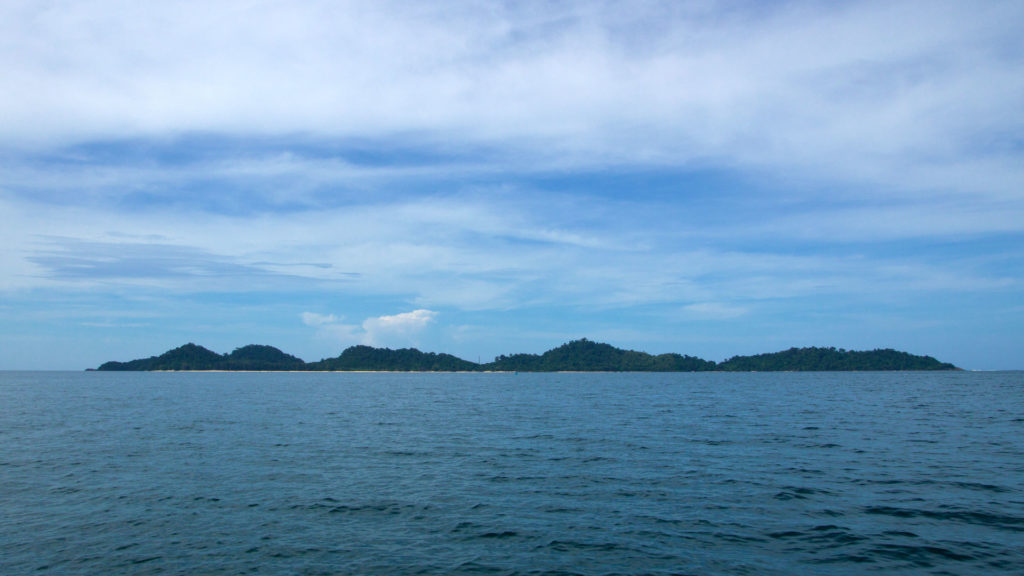 The view at Koh Kradan near Trang