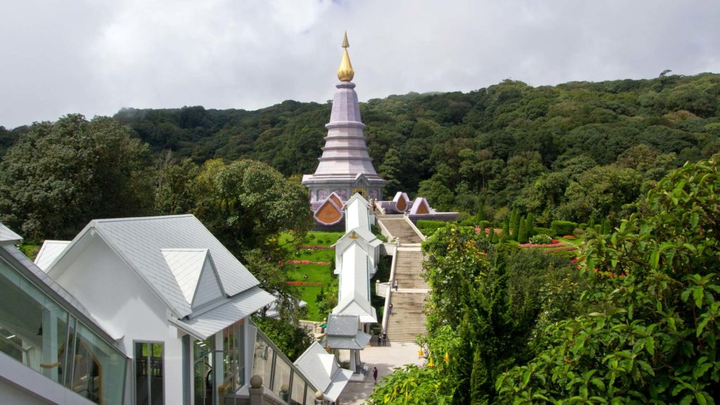 Naphapholphumisiri Pagoda in Doi Inthanon National Park