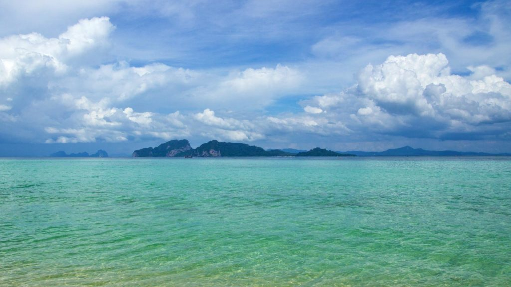 The view from Koh Kradan at Koh Mook