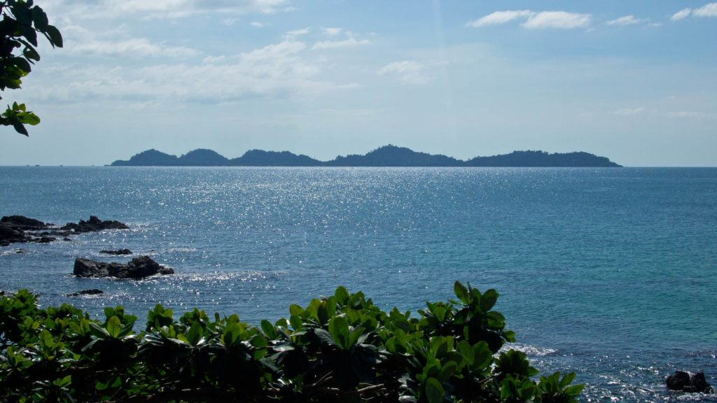 View from the Koyow viewpoint on Koh Mook at Koh Kradan