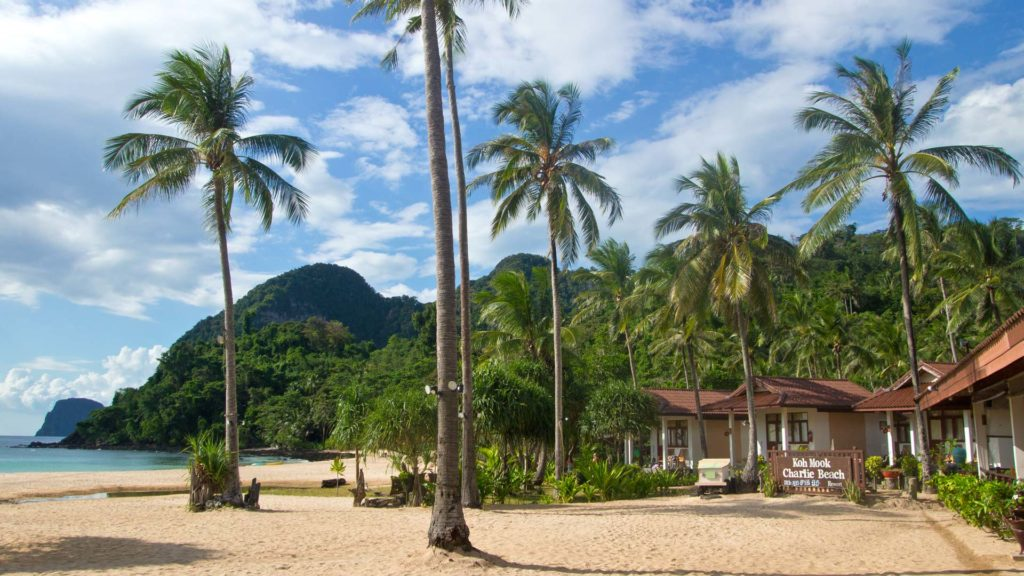The Charlie Beach Resort at Haad Farang on Koh Mook, Trang