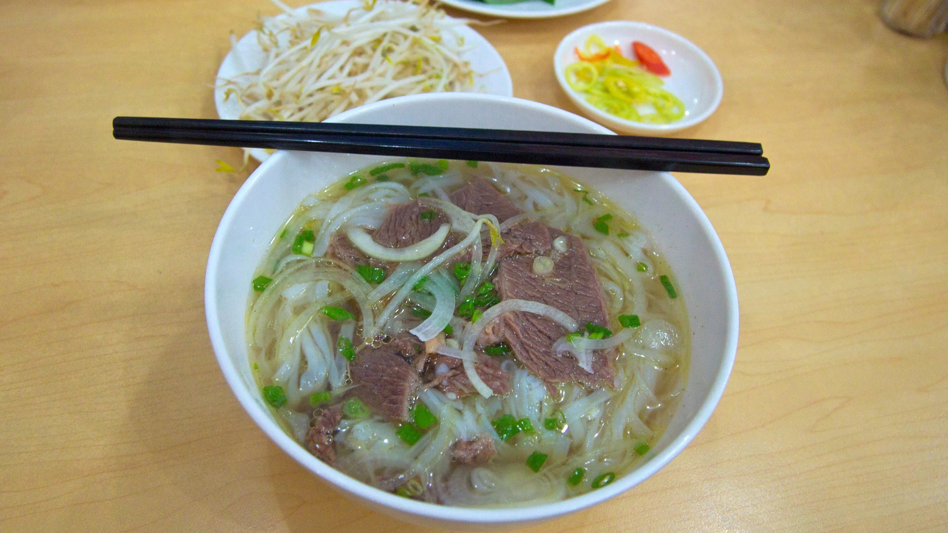 Pho Bo   Vietnamese Noodle Soup With Beef