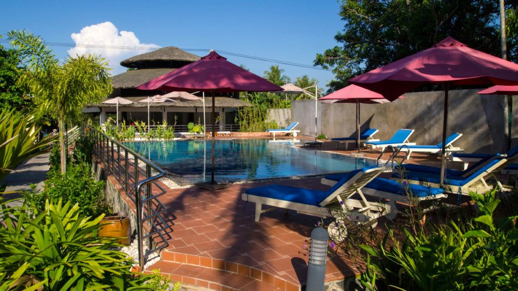 Poolbereich des Castaways Resorts