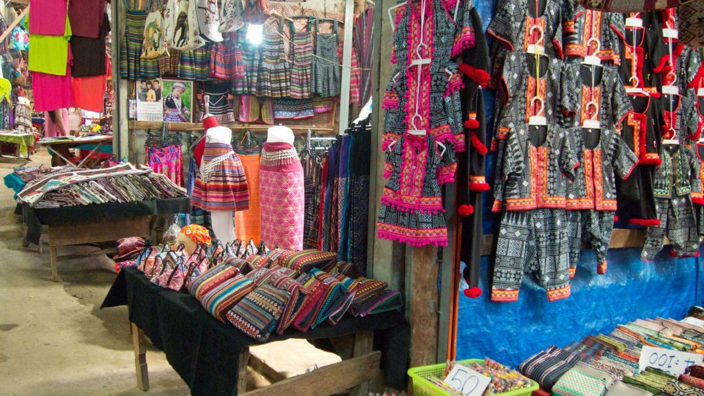 Shops in the Hmong Village on Doi Pui