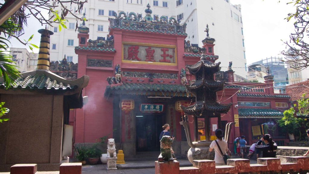 The Jade Emperor Pagoda in Ho Chi Minh City, Vietnam
