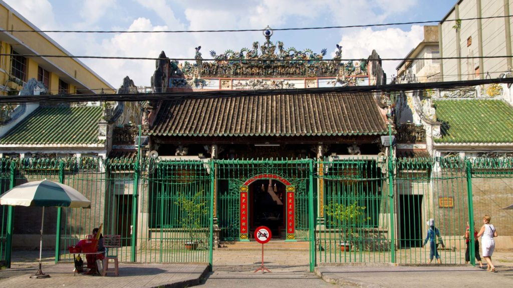 The Thien Hau Temple in Ho Chi Minh City