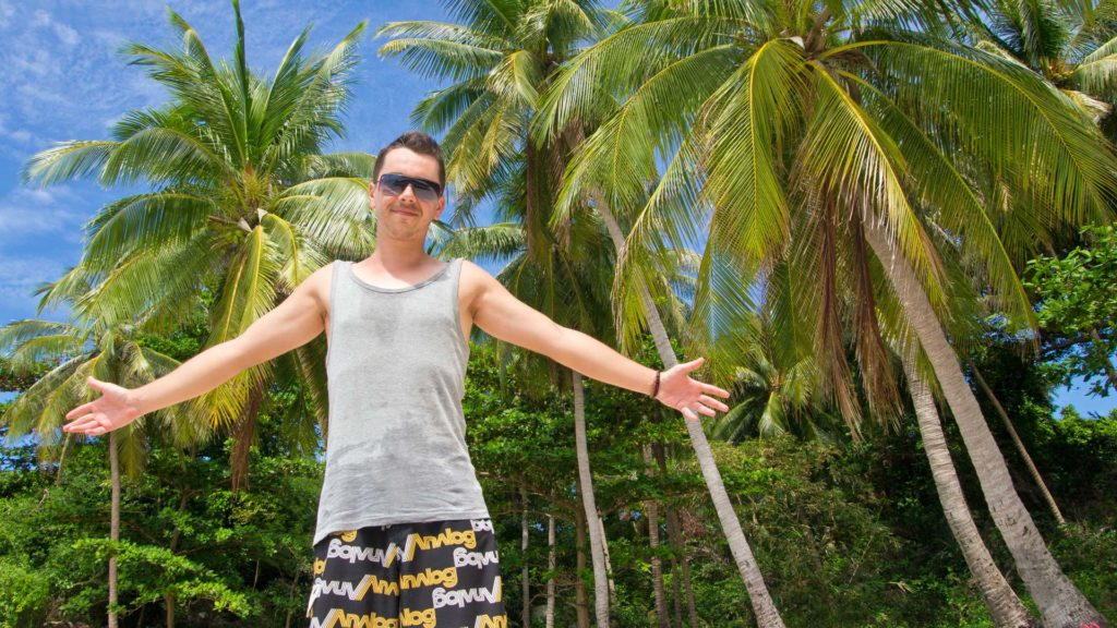 Marcel on Fingernail Island, Phu Quoc