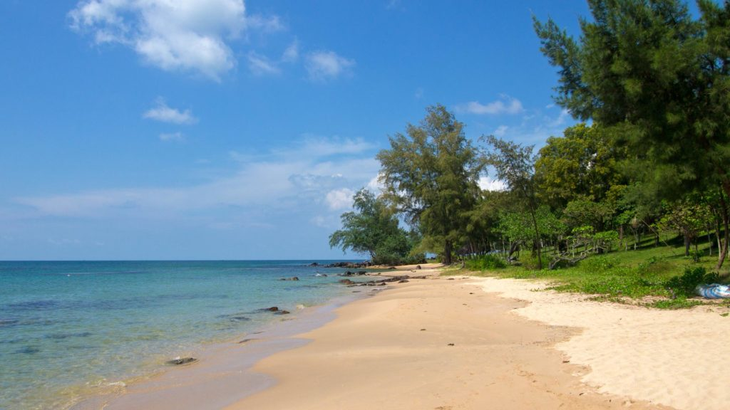 Ong Lang Beach in the northwest of Phu Quoc, Vietnam