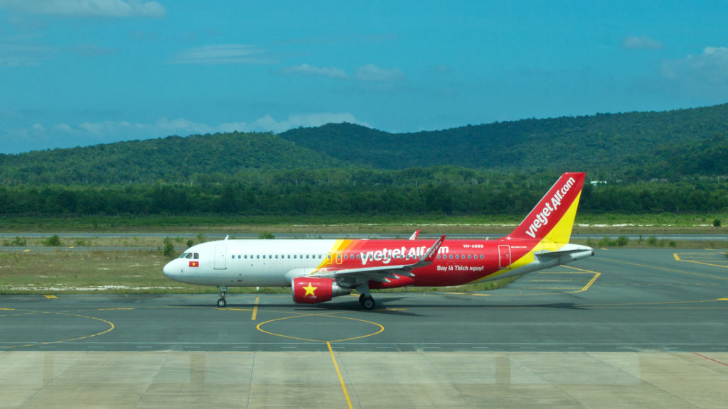 Vietjet Air - Billigfluggesellschaft in Vietnam