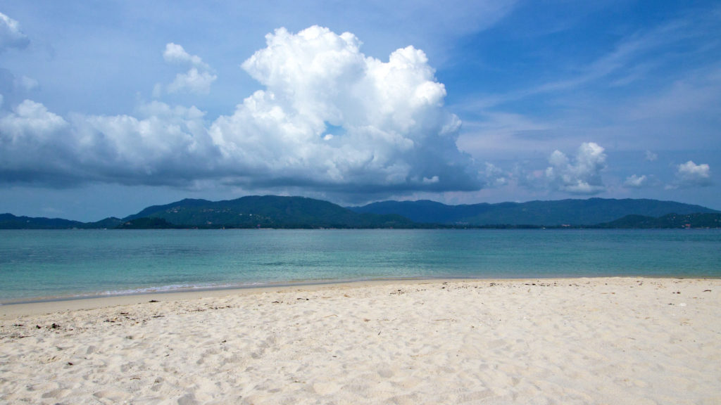 The view at Koh Samui from Koh Madsum, Thailand
