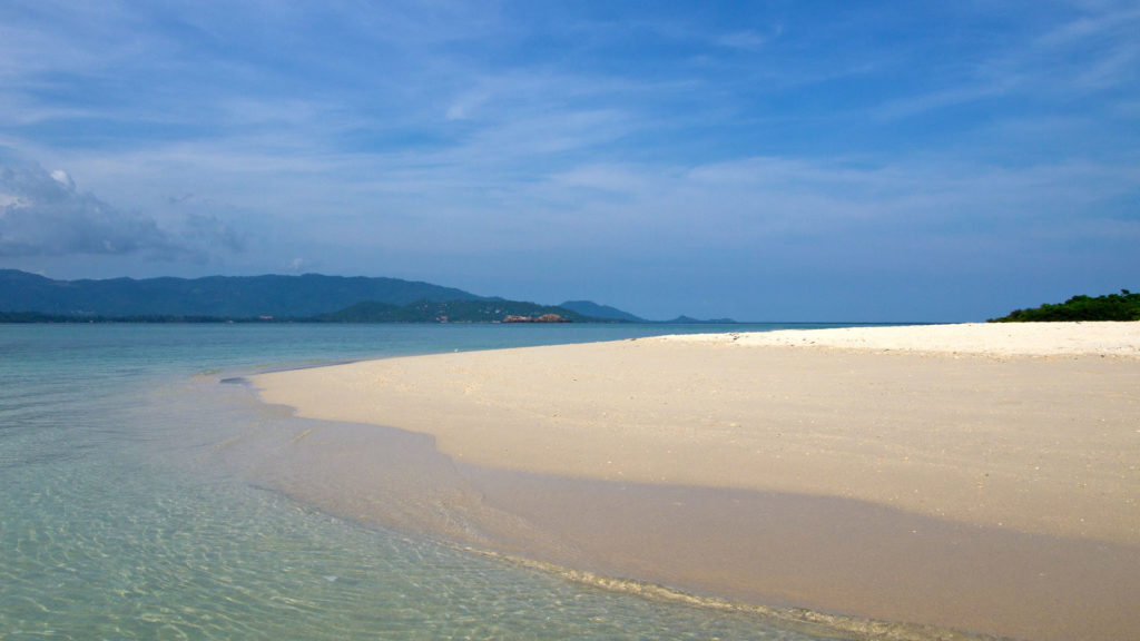 Paradise-like water on Koh Madsum
