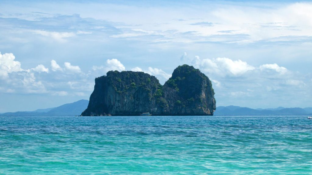Koh Ma off the coast of Koh Ngai, a popular snorkeling spot