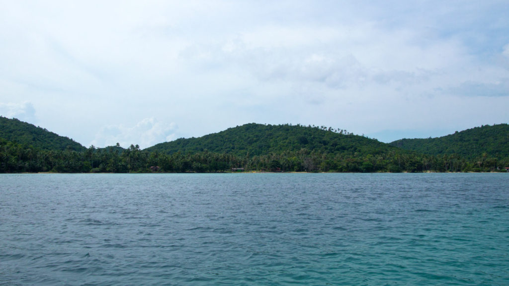 Snorkeling off the coast of Koh Taen, Koh Samui