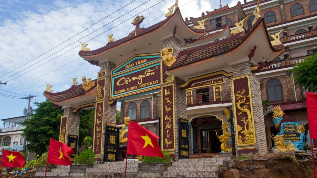 The Coi Nguon Museum at the Long Beach of Phu Quoc, Vietnam