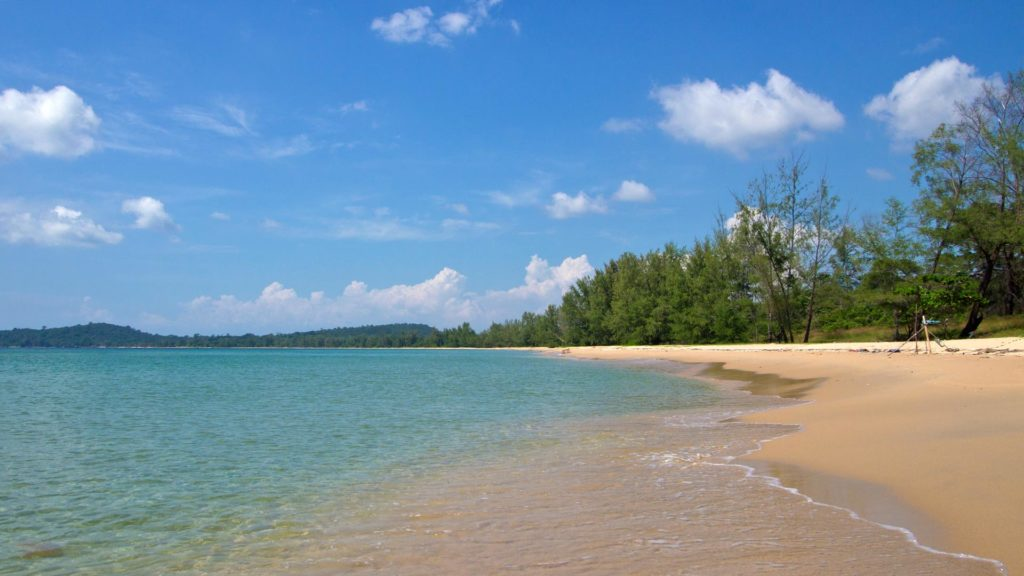 The Vung Bau Beach in the northwest of Phu Quoc