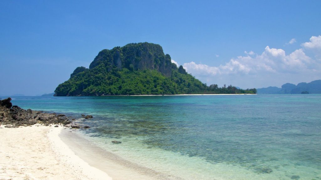The view from Tub Island at Koh Poda