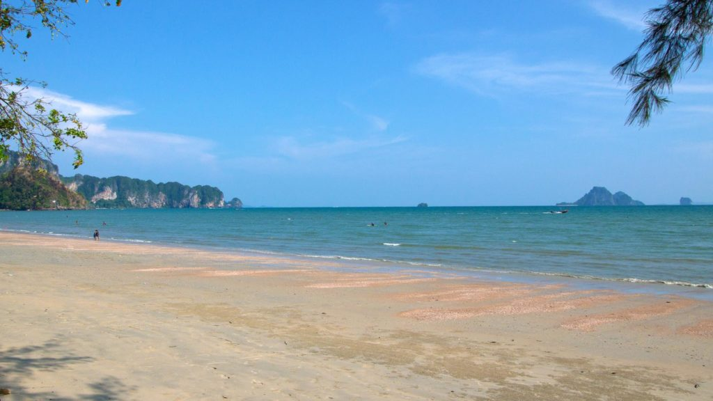The Nopparat Thara Beach with a view at Koh Poda in Ao Nang, Krabi