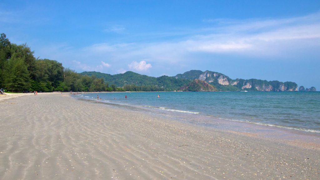 The Nopparat Thara Beach in Ao Nang