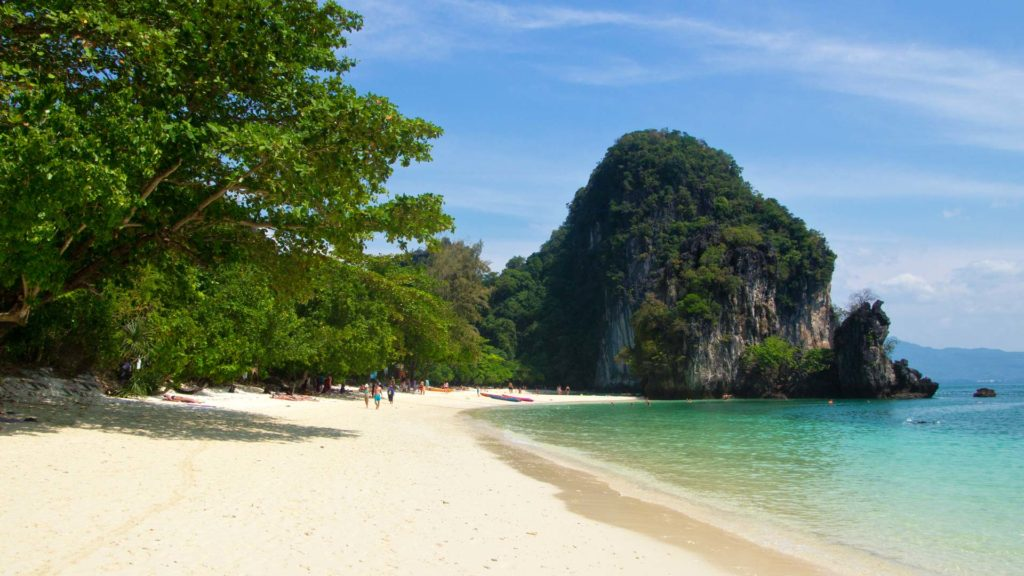 The bay of Hong Island in Krabi