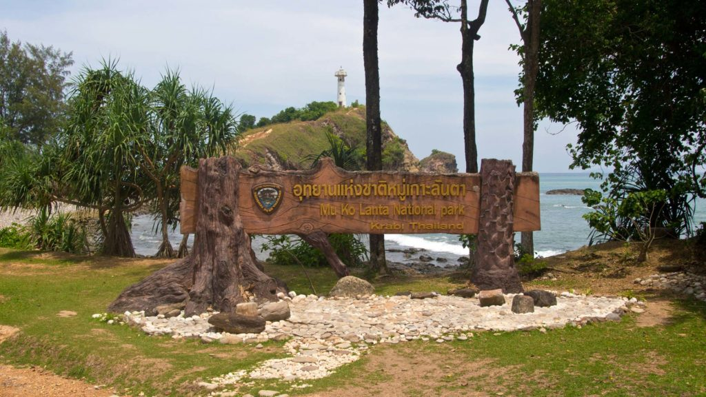 The Mu Koh Lanta National Park on Koh Lanta, Region Krabi