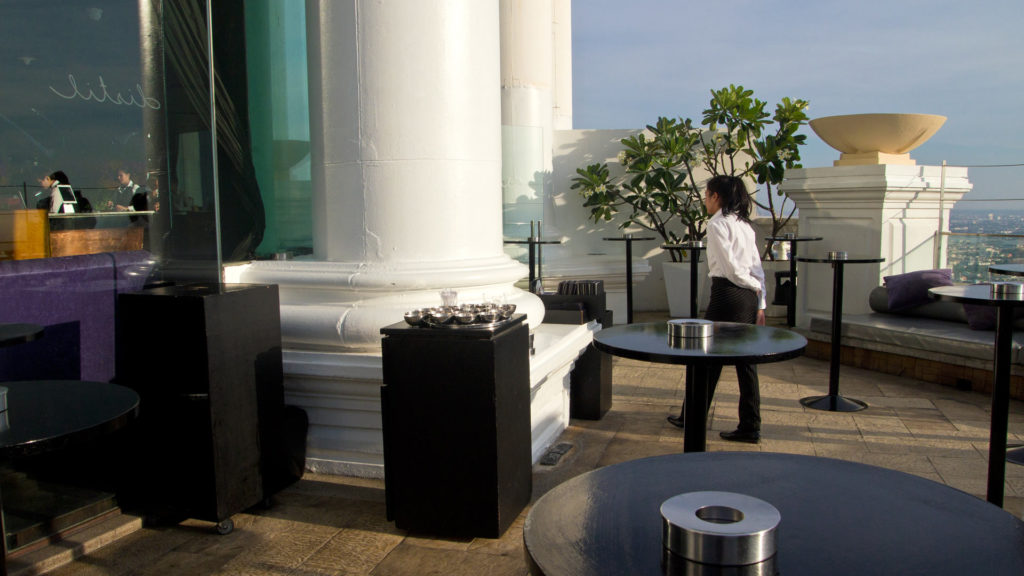 The Distil Bar in the Lebua at State Tower, Bangkok