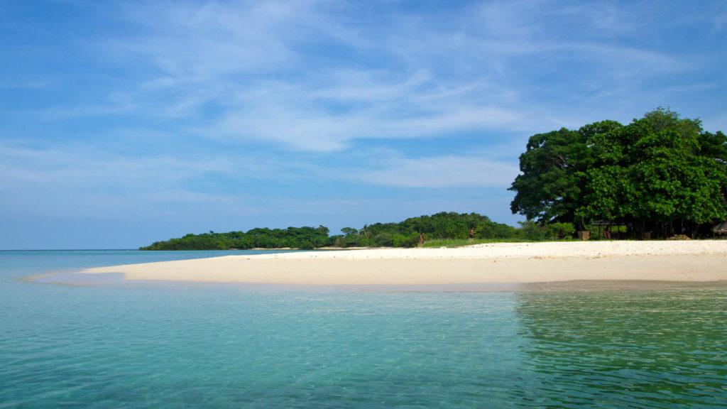 Die kleine Insel Koh Madsum vor der Küste von Koh Samui