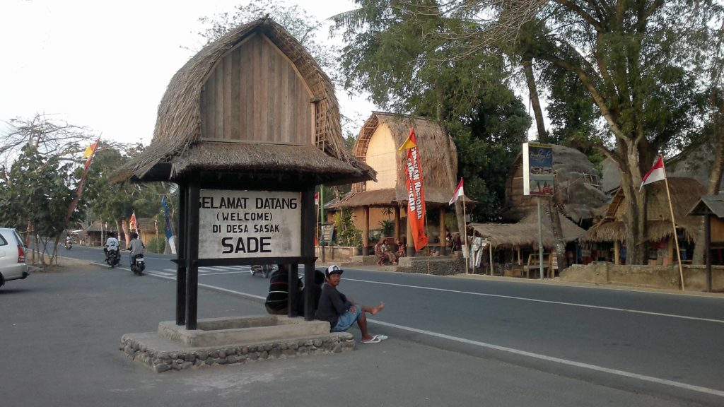 Sasak village in Sade, Lombok