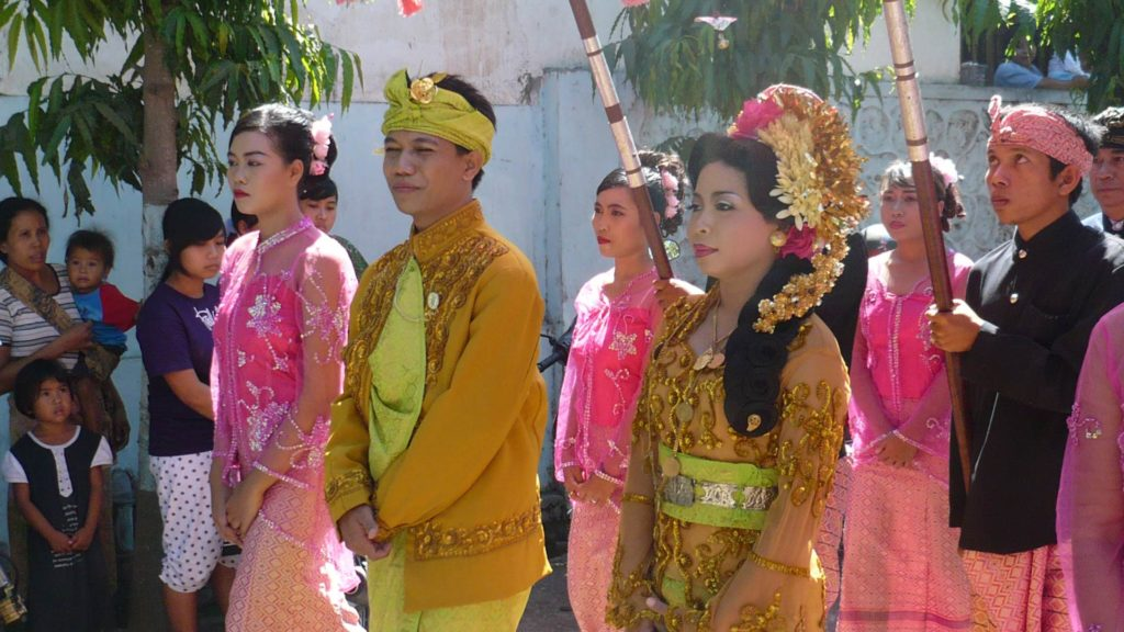 Traditional Sasak wedding on Lombok